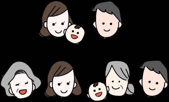 ご家族によって、さまざまな お宮参りの形があります