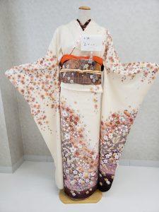 森ガール風 振袖コーディネート