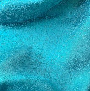 青緑色の振袖レンタル