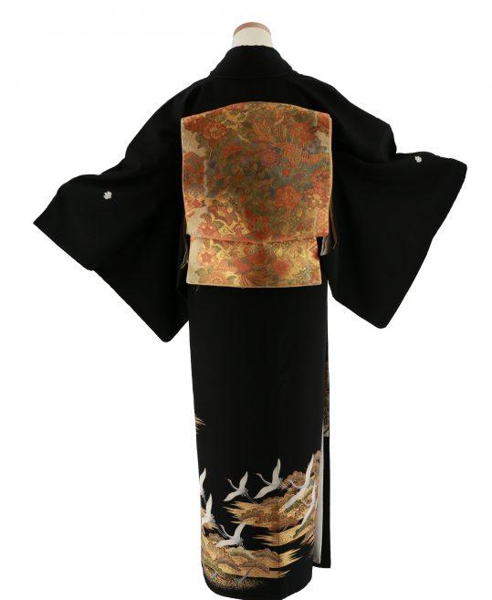 留袖No.620 | 鶴に松 [160cmまで]