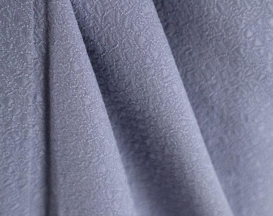 色無地【6・9月用、単衣】【Lサイズ】【1紋】群青色[身長162cmまで]No.333