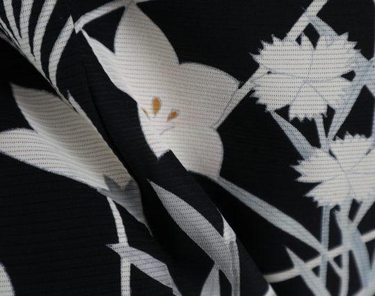 真夏用留袖【7・8月用・絽】桔梗・撫子[身長157cmまで]No.51