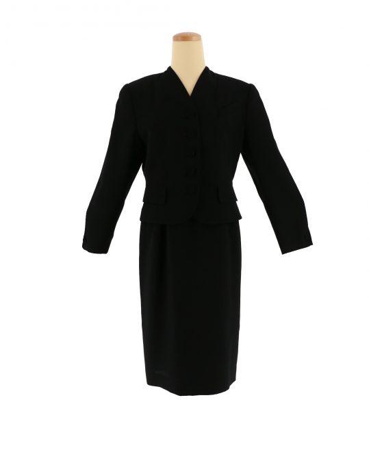レディース喪服・ブラックフォーマルNo.29|ジャケット+スカート[11号サイズ]