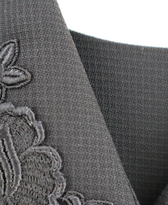 レディース喪服・ブラックフォーマルNo.31 ジャケット+ワンピース[9号サイズ]