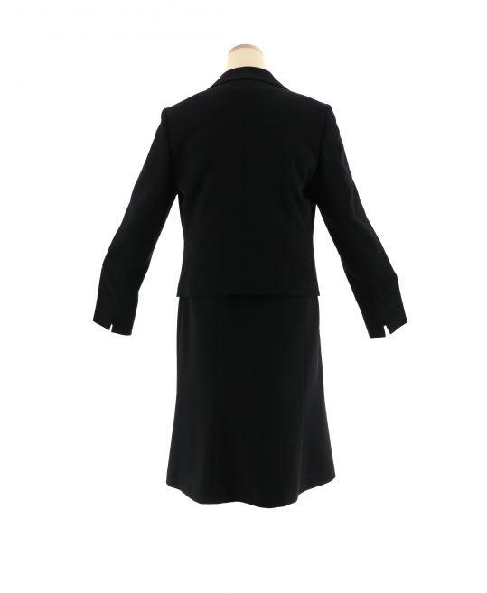 レディース喪服・ブラックフォーマルNo.45 ジャケット+トップス+スカート[11号サイズ]