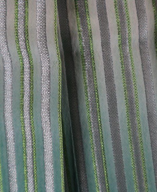 紋付袴No.142|緑色から抹茶色へぼかし 市松模様 対応身長 / 175cm前後
