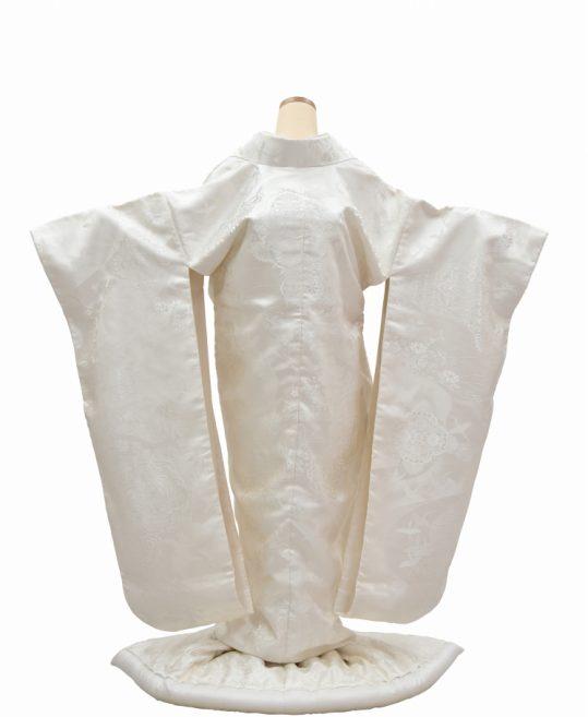 結婚式の白無垢・花嫁用着物|華文と鳥に花々 [ゴージャス] No.325